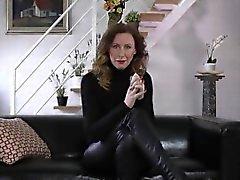 Mature heeled brit rammed