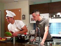 In der Küche , Backstage Mit der Trystan Bull. und Johan