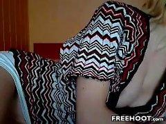 shenleex amadores dedilhado-se na webcam em directo