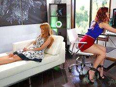 Lesbians Jayme Langford And Karlie Montana