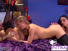 Intimate Lesbians - Amy Anderssen, Jessica Jaymes, Nicole