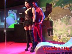 Luna Rodriguez y Dracox shibari erotic show