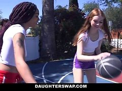 DaughterSwap - Horny Teens Dela Daddy Cock