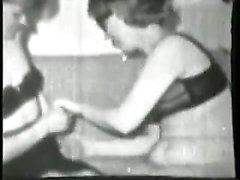 Vintage lesbo ev hanımları