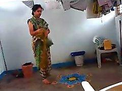 Indisch aunt fing Verband