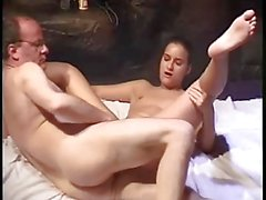 Escort Greta gets fucked by fat older guy