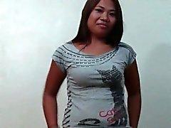 Filippina amatoriale Soddisfa i e scopa un Stranger