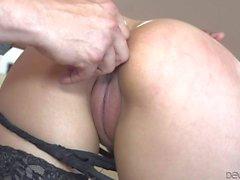 Nicole Ferrera gets her tight latina ass stuffed
