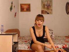 teen kriss sexy21 blinkande bröst på live webbkameran