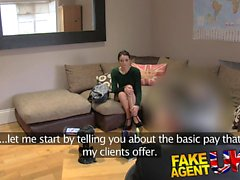 Fake Agent UK Hot anal action with petite Italian