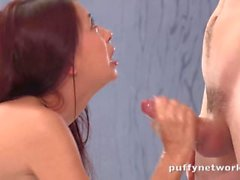 Rough ass to mouth and deepthroat for Pornhub Fantasy Contest Winner