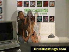Gina Valentina Brutal Castings sex