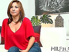 Sexy milf with sexy stockings