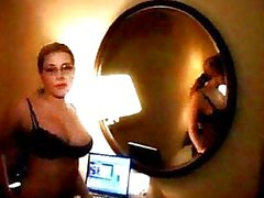 Erica Campbell -- Hotel Room After Work