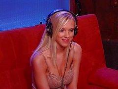 Sexy горячей порнозвезда Биби Джонс Interview