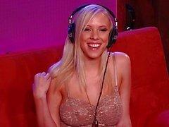 Sexy della pornostar a caldo Bibi Jones colloquio di