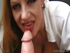 Busty Secretary Lusts For Cock In The Office