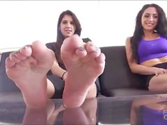 LoganLace & Clep Foot Worship brattyfootgirls