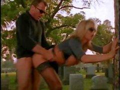 Hot Renee Larue Banged In graveyard