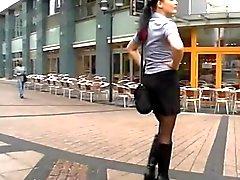 Молодая немецкая девушкой хочет Замечание Общедоступная группа ебать