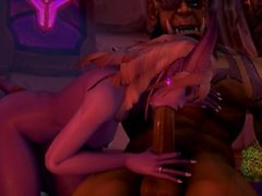 Viimeisen yön Warcraft metsänhoidon
