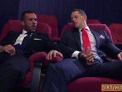 Muscle Homosexuell Flip-Flop mit Cumshot