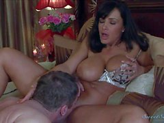Big breasted middle aged beauty Lisa Ann