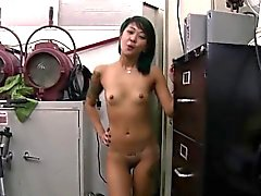 Brunette takes the deal and gets fucked