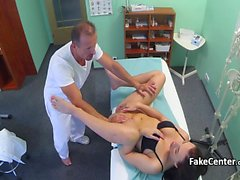 Teen fucked by doctor in his office
