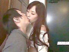 Mignons coréen cornée baisée