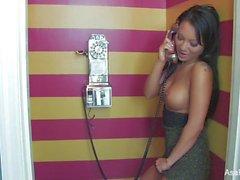 super sexy sexo por telefone masturbação de Asa Akira