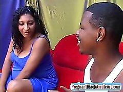 Wow, brasilianische schwangere Schlampe ist so geil