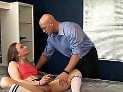 Neighbour smoke brutal cock of tranny