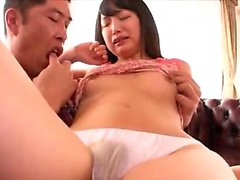 Amateur asian toyer toying at home