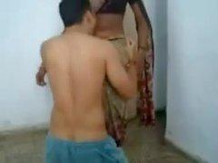 Licking ombligo Kaamwali del Bai a Meena