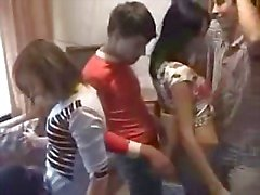 Russian Student Orgy Part1