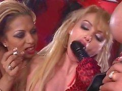 Lesbian Latex Strapon Smoking Orgy