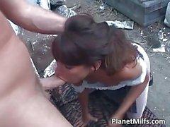 Latina secretary is ready to satisfy her boss