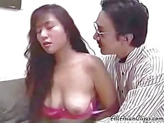 Sexy Japanese Girl Tits Massage