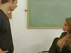 Professor e seus melhores alunos Madison Ivy
