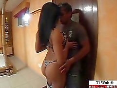 Horny Brasilian Tytöt