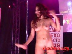 Dana Santo live porn show FEDA 2017