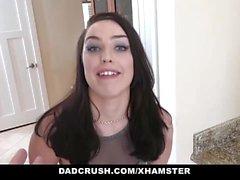 DadCrush - üvey kızı Raven Re ile karısı üvey baba hileleri