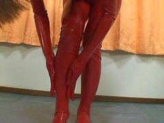 Japanese Latex Catsuit 36