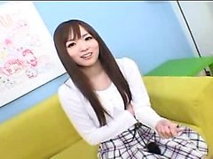 Cute Japanese teen foot fetish clip