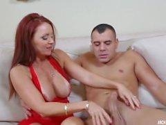 Verdadeiro Milf - Redhead MILF Janet Mason amar big young cock