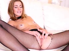 Alexis Crystal Sex Toy Masturbation