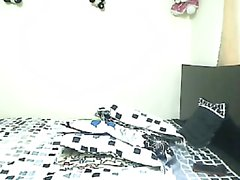Sensational Catalina Cruz se masturbe sur webcam