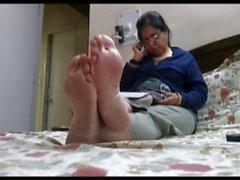 Ungestellt heiße Füße ( Füße nicht )