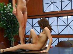 Lesbian Reena Sky and Sara Luvv